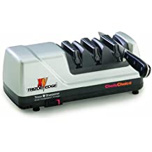 Chef's Choice 101508 Trizor XV Edgeselect Electric Knife Sharpener, Brushed Metal