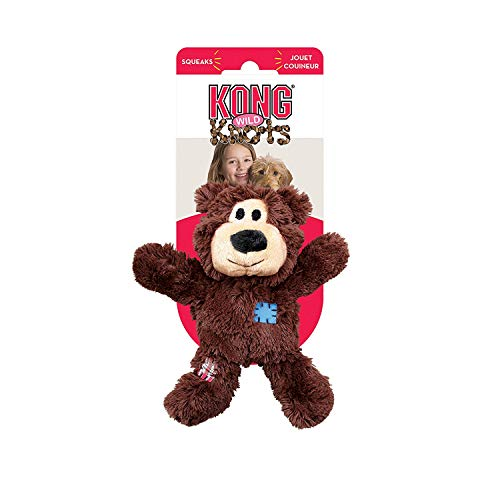 KONG WildKnots Bears Dog Toy XS Size [Misc.]