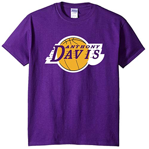 Purple Los Angeles AD Davis Logo T-Shirt Adult