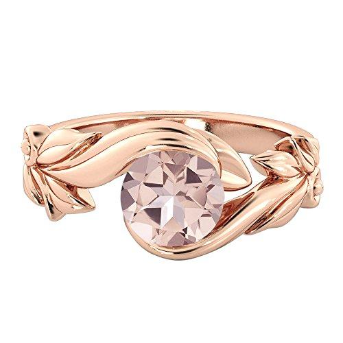 Diamond Mine 1.00 Carat natural peach/pink VS