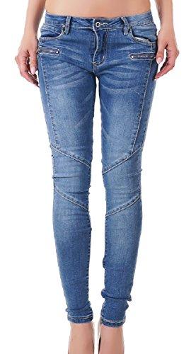 Jeans Basic Pantaloni Donna Skinny Redseventy CqUB0wxax
