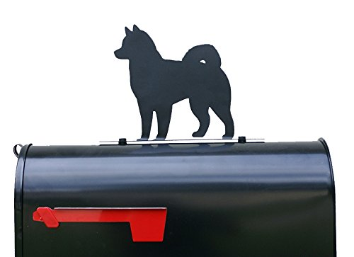 Husky Dog Silhouette Mailbox Topper / Sign / Plaque by NewnanMetalWorks