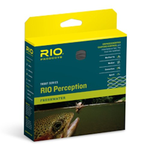 RIO Fly Fishing Fly Line Perception Wf6F Green Fishing Line, Green-Camo-Tan