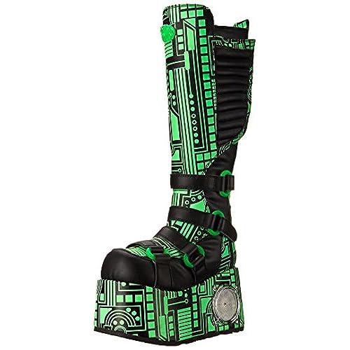 delicate Pleaser Men's Techno-856UV-G Boot