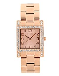 Guess W0128L3 Ladies Rose Gold Dress Watch
