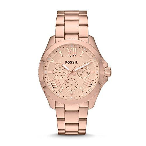 Fossil Reloj Análogo clásico para Mujer de Cuarzo con Correa en Acero Inoxidable AM4511: Fossil: Amazon.es: Relojes