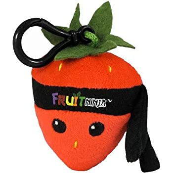 Amazon.com: Fruit Ninja Clipon de peluche fresa: Toys & Games
