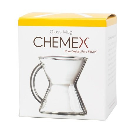 Chemex Hand Blown Glass Coffee Mug, 10 Ounce