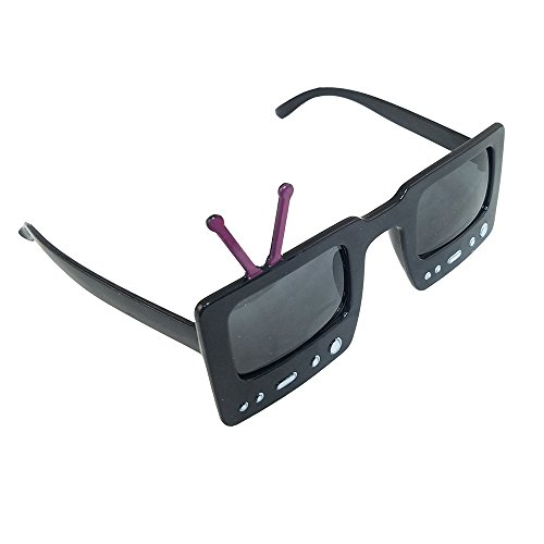 Novelty Giant TV Shape Party Sunglasses ()