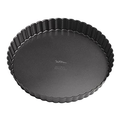 Wilton 2105-6818 Perfect Results Nonstick Round Tart Quiche Pan, 9-Inch