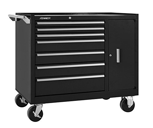 g 10491BK 7-Drawer Pro-Line Maintenance Cart, Black ()