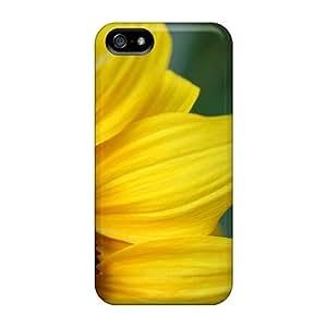 Mialisabblake Premium Protective Hard Case For Iphone 5/5s- Nice Design - Nature Flowers Sunflowers