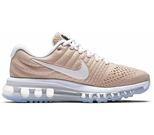 Nike Wmns Air Max 2017 849560 200 Vrouwen Loopschoenen / Loopschoenen / Sneakers Beige Bruin