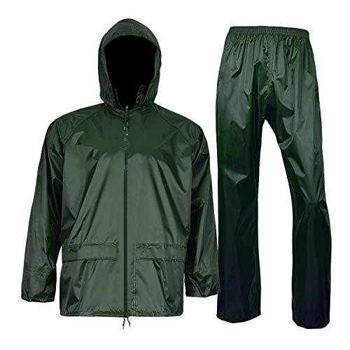 Amazon.com: Chubasquero con pantalón para hombre y mujer ...