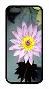 Flower From Martinique Custom iPhone 5s/5 Case Cover TPU Black