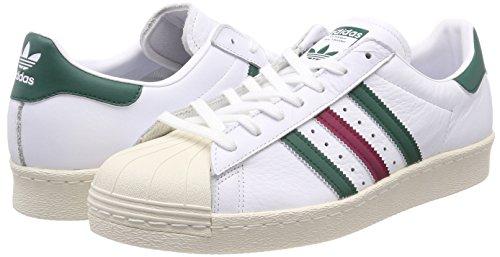 Blanc Veruni Adidas Superstar ftwbla Rubmis 000 De 80s Fitness Chaussures Homme B1xgxYTq6w