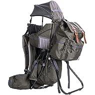 ClevrPlus Urban Explorer Child Carrier Hiking Baby Backpack, Olive Green