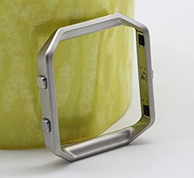 Fitbit Blaze Smart Fitness Watch Replacement Accessory Housing Frame Only, Silver Color