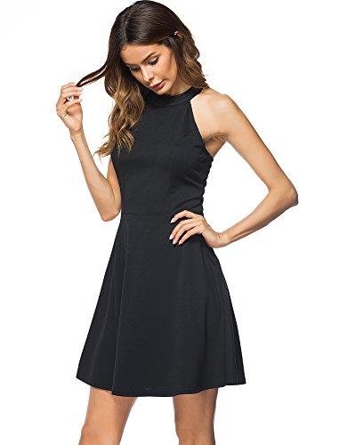 Flare Little Black Dress - 6