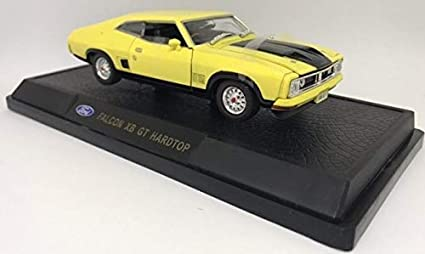 Ford Falcon Xb Gt >> Amazon Com Oz Legends Ford Falcon Xb Gt Hardtop Yellow