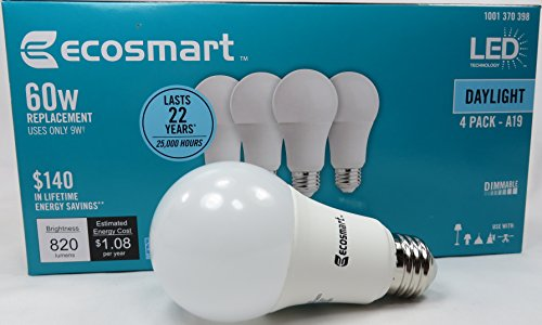 EcoSmart Equivalent Daylight Energy Dimmable product image