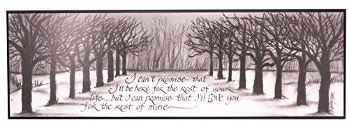 Lifetime Love Quote Wall Plaque