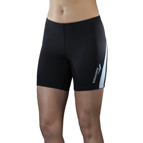 Saucony Men's Training Short, Black, X-Small