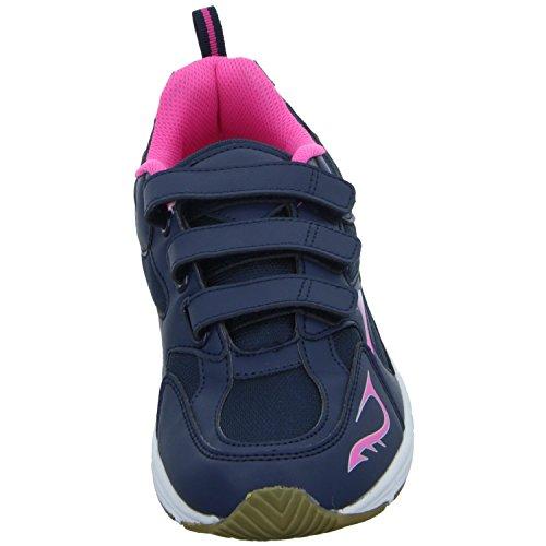 Sneakers RJ-3244 Damen Training mit Klettverschluss Blau (Blau)
