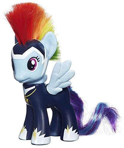 My Little Pony Friendship is Magic Power Ponies Zapp Tonnerre Rainbow Dash Exclusive Figure