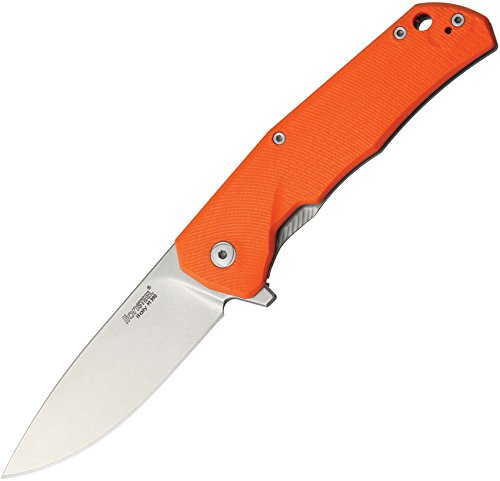 Lion Steel Knives TREGOR TRE G-10 Framelock Orange by Lion Steel