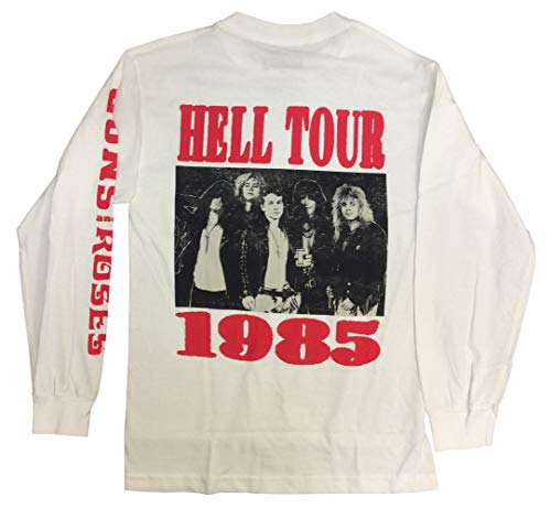 (Bravado Guns N' Roses Hell Tour 1985 Long Sleeve)