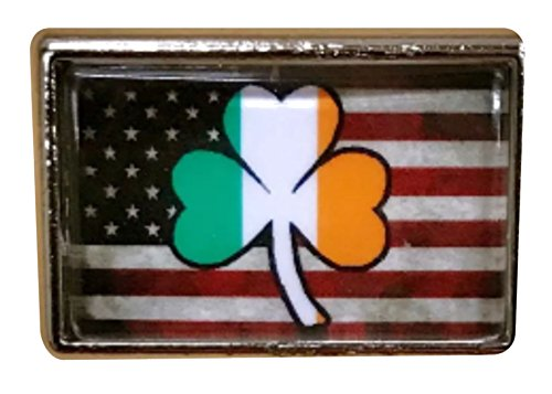 Irish American Pride Lapel Pin (1 Piece) (American Pride Pin)