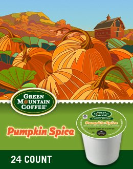 Green Mountain Coffee Pumpkin Spice K-Cups by Green Mountain Coffee