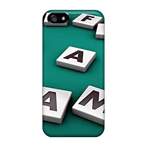 Fashion KxT7387aOyj Case Cover For Iphone 5/5s(life Is A Game)