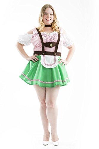 Charades Women's Bavarian Beer Garden Girl Costume, Small -