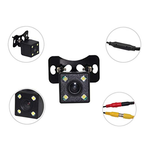 Amazon com: Glumes Universal Car Backing Camera - 170°, 4