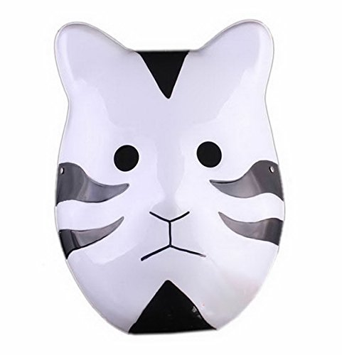 Naruto Shippuuden ANBU Cosplay Mask Itachi Cat Style Black by Renineic