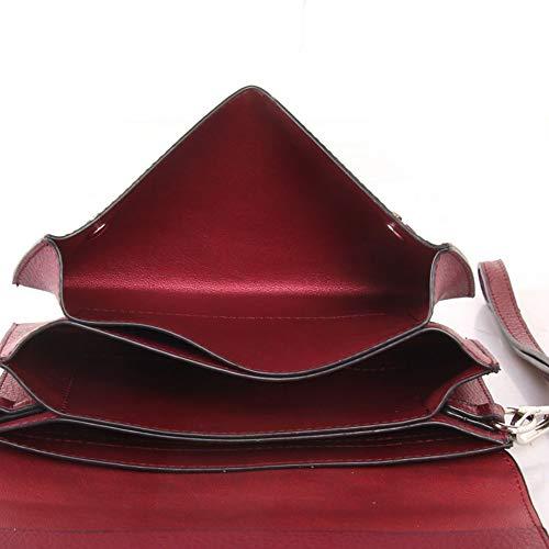 Red Bag Small Boy Messenger Cross Cuckoo Womens Handbag Clutch Wine 4fnAq6W0