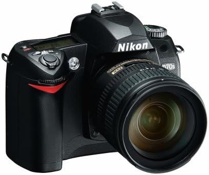 Nikon D70s Slr Digitalkamera Inkl Nikon Objektiv Af S Kamera