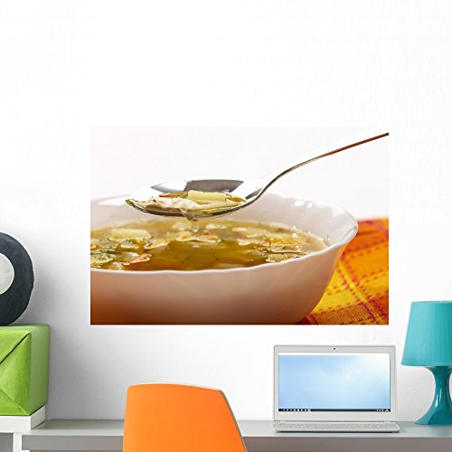 Wallmonkeys Vegetable Soup Wall Decal Peel and Stick Graphic WM287558 (24 in W x 16 in H) ()