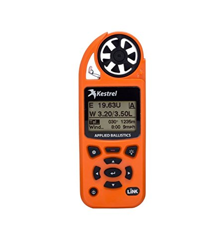 Kestrel Elite Weather Meter with Applied Ballistics and Bluetooth LiNK, Orange by Kestrel