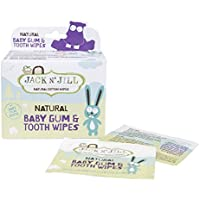 Jack N Jill Baby Gum and Tooth Wipes, White, by Jack N Jill