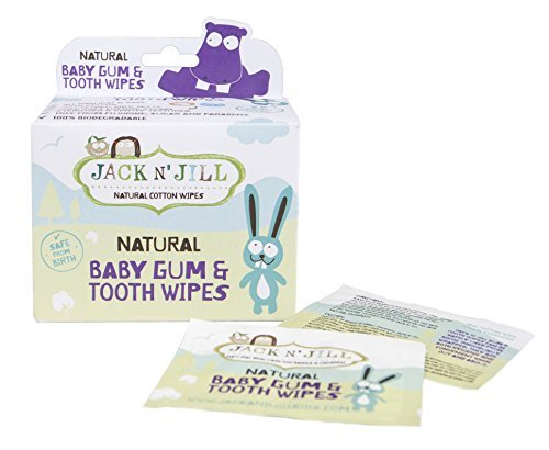 Jack N' Jill Baby Gum and Tooth Wipes, White, by Jack N' Jill by Jack N' Jill