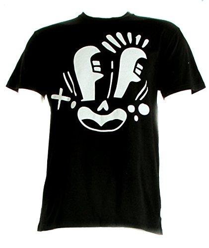 Pepsi Crew 3 Face T-Shirt Black Men's Size X-Large