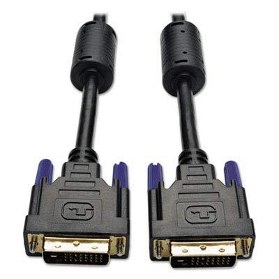 TRIPPLITE P560006 P560-006 6ft DVI Dual Link TMDS Cable DVI-D M/M, 6`