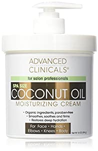 3. Advanced Clinicals Coconut Oil Cream