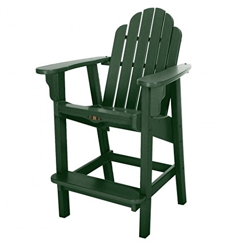Adirondack Counter Chair (Pawleys Island Essentials Counter Height Adirondack Chair Green)