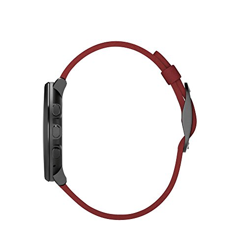 Pebble Time Round 14mm Smartwatch for Apple/Android Devices - Black/Red by Pebble Technology Corp (Image #3)