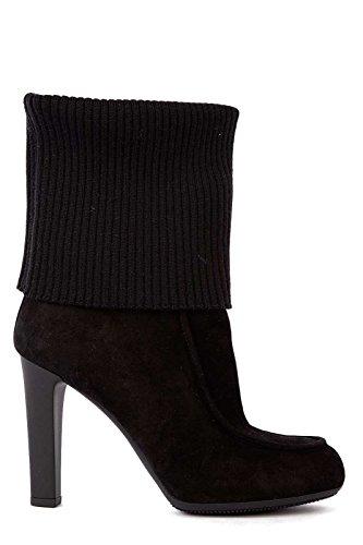Hogan stivaletti bottes femme à talon camocio h220 laine noir
