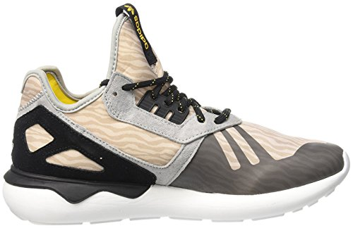 adidas Herren Tubular Runner Sneakers, 40 EU Grau/Schwarz